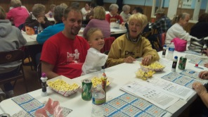 April 2012 - Drew Walking Tall Bingo Night at KofC