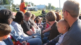 October 5, 2011 - Preschool field trip to Cate's farm