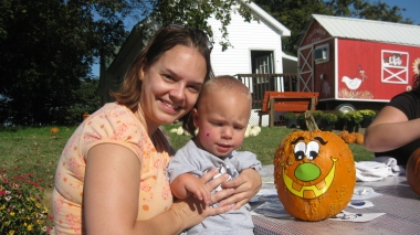 October 5, 2011 - Preschool field trip to Cate's farm