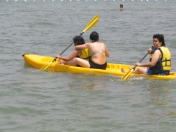 Kayakers
