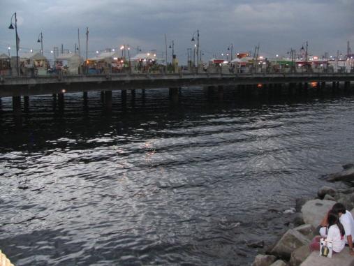 Manila Bay Pier