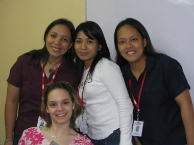 Tonie, Jao, Joy and me