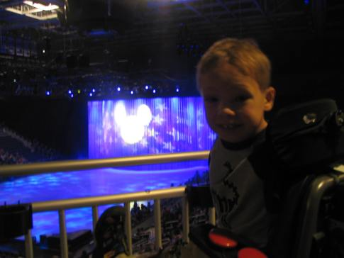 May 17, 2014 - Disney on Ice in Evasnville