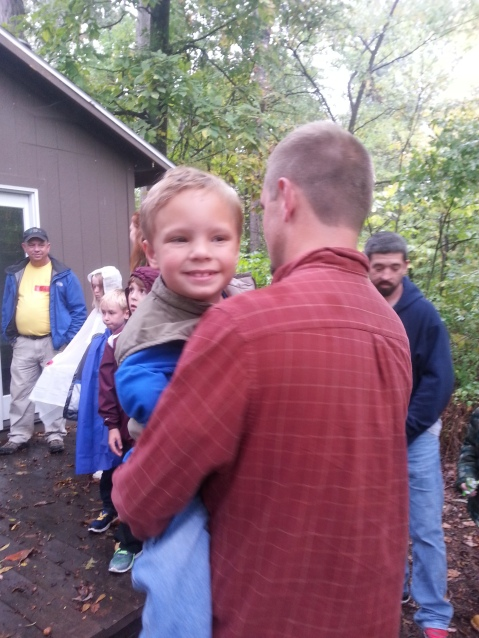 October 11, 2014 - Zipline with Cub Scouts