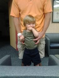 June 10, 2014 - Drew's tonsillectomy at Vanderbilt