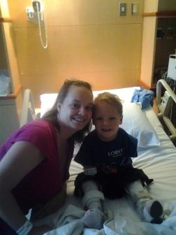 June 11, 2014 - Tonsillectomy at Vanderbilt