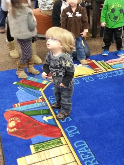 February 27, 2015 - Time for Tots at the Morganfield Library