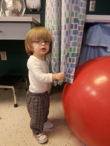 March 3, 2015 - at physical therapy at MHUC with Drew
